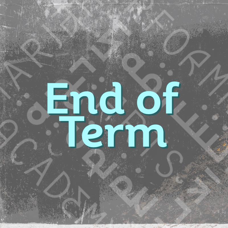 End of Term 2 – Undergraduates
