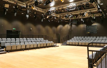 126 seat studio theatre