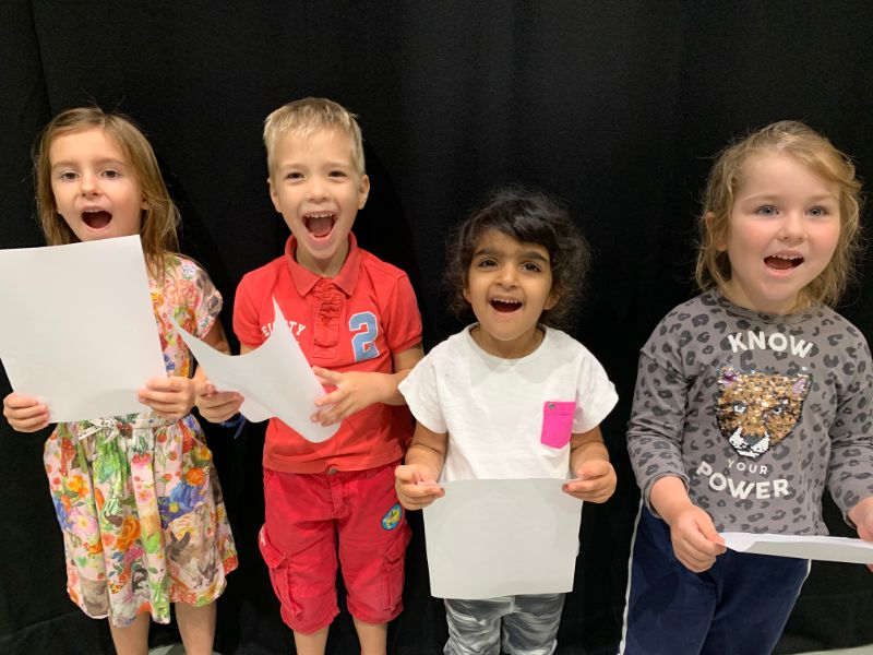 Introduction to Musical Theatre (4 -6 Years)
