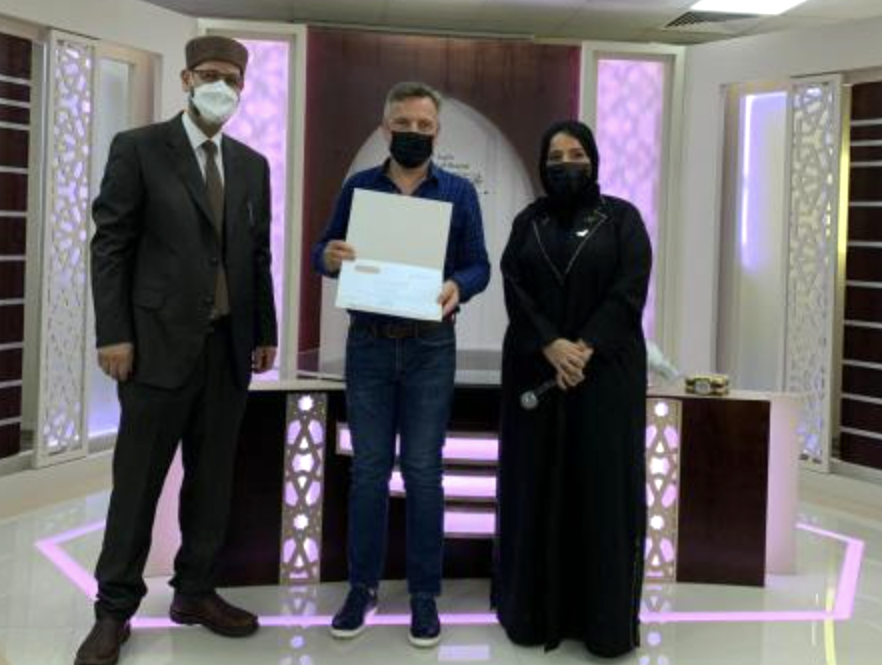 16 students from eight countries graduate Arabic course at Arabic Language Academy in Sharjah